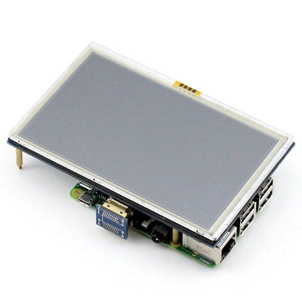 5 인치 LCD HDMI 터치 스크린 디스플레이 TFT LCD 패널 모듈 800*480 바나나 파이 라즈베리 파이 4B 라즈베리 파이 3 모델 B / B +