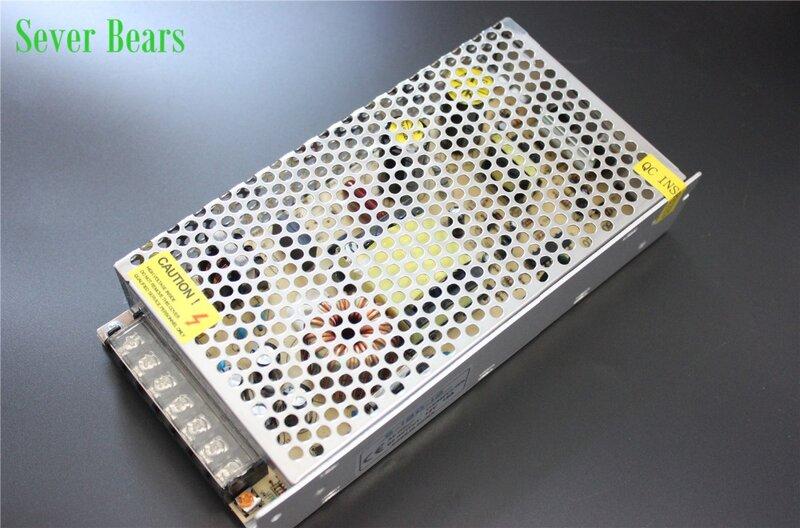 D100 DC12V 1.25A 2A 5A 10A 15A 20A 30A แหล่งจ่ายไฟหม้อแปลงอะแดปเตอร์ AC110V-240V TO DC12V อะแดปเตอร์สำหรับ LED แถบไฟ