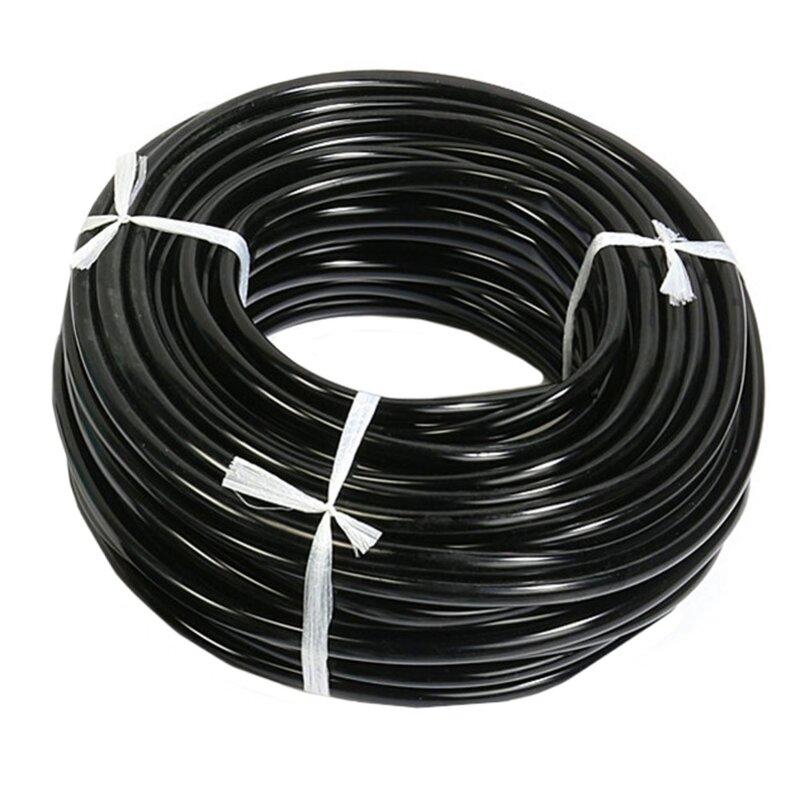 Micro tuyau d'irrigation de jardin 5M 4/7mm | Tuyau d'arrosage, Tube d'arrosage utilisé pour le jardinage, assemblage de canopères d'arrosage de pelouse