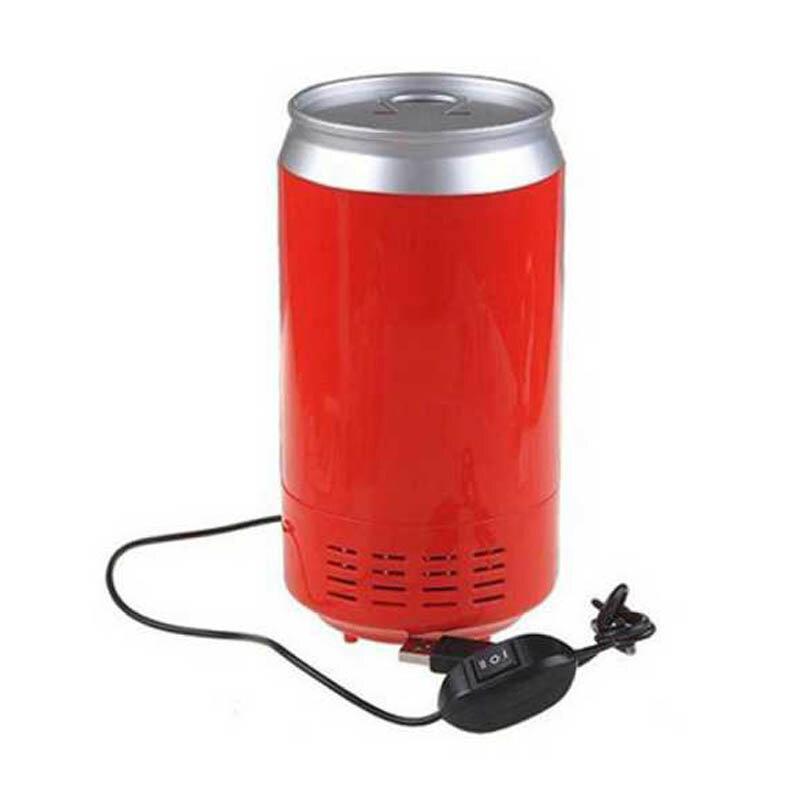 Portatile mini usb frigo dispositivo di raffreddamento dello scaldino frigorifero Gadget Mini USB PC Frigorifero Beverage auto Bevanda Lattine di Raffreddamento & Scaldino