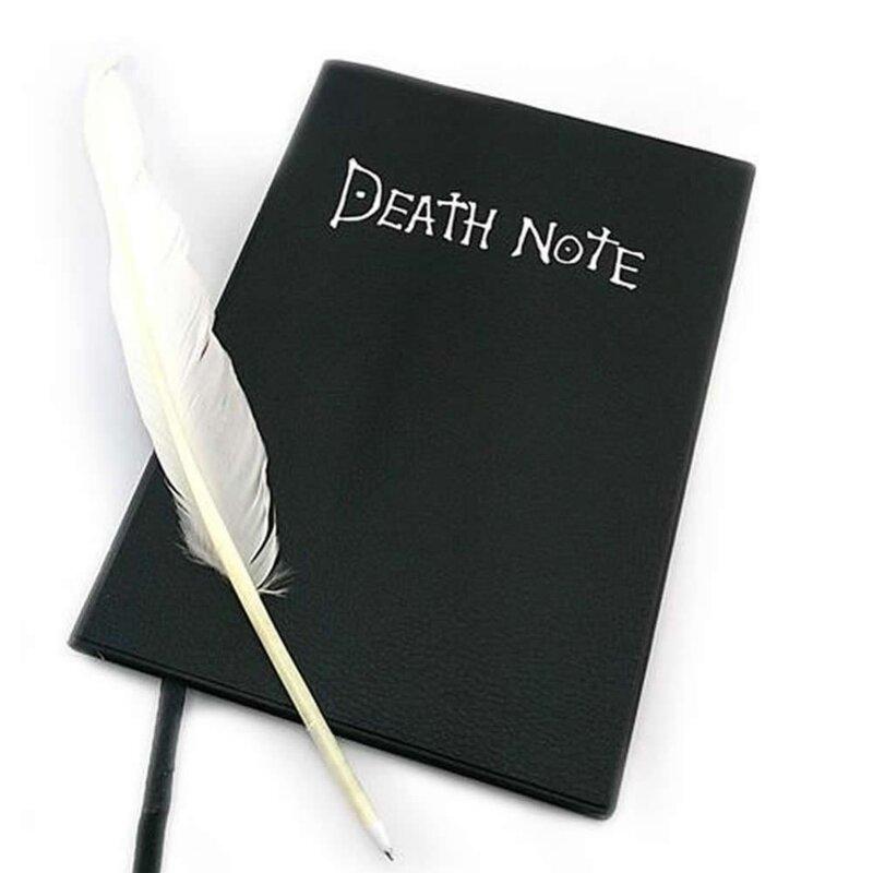 Death Note book-cuaderno de notas de la muerte con temática de Anime, 20,5 cm * 14,5 cm