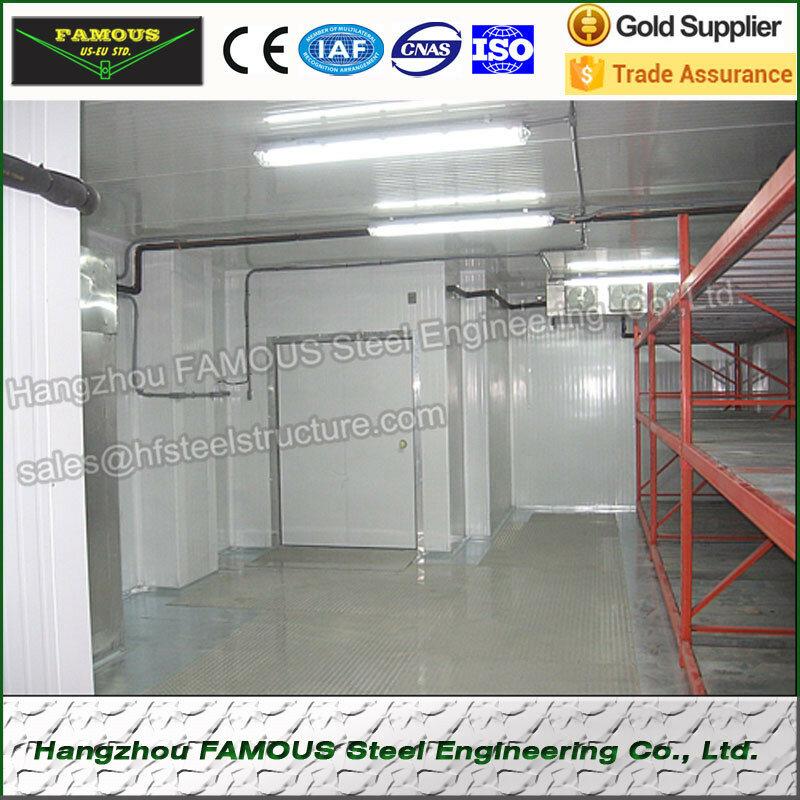 Cina Fornitore di Commercio della Camminata in Congelatore Freddo E Freezer Camera Unità di Refrigerazione Con Porta Scorrevole Per Verdure Fresche