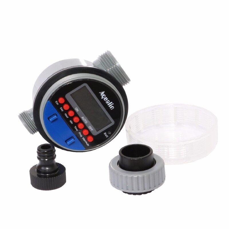 Timer automatico per irrigazione Display LCD Timer elettronico per valvola a sfera da giardino domestico per Controller di irrigazione da giardino #21026