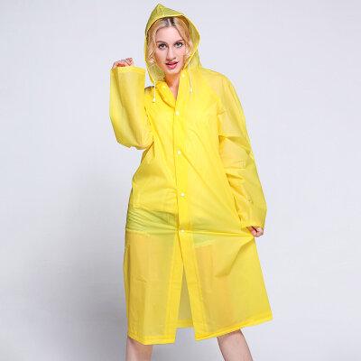 معطف واق من المطر شفاف خفيف الوزن ، للنساء ، عصري ، غير قابل للتصرف ، للبالغين