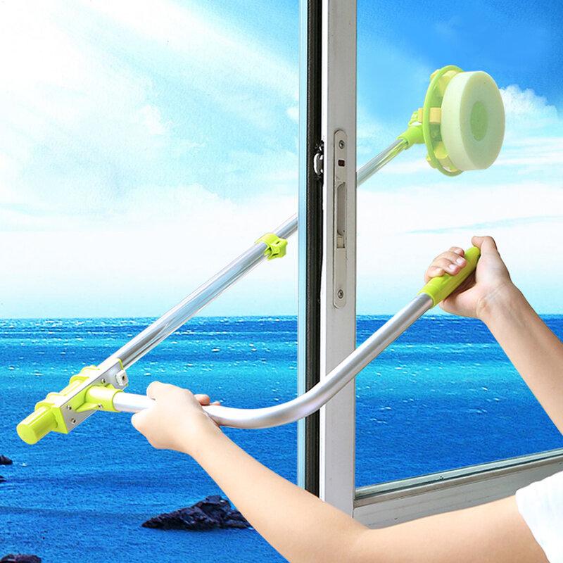 Telescopico di Alta-aumento finestra di vetro di pulizia pulitore di spazzola per lavare i vetri Polvere pennello pulito il windows hobot 168 188