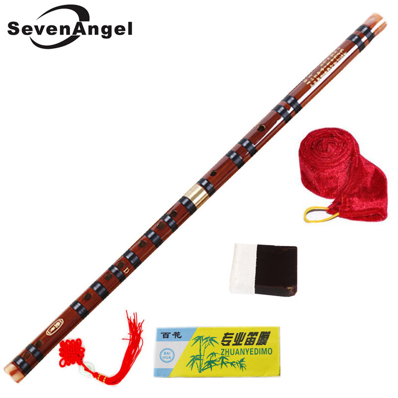 فلوت بامبو عالي الجودة ، آلات موسيقية احترافية ، مفتاح C D E F G ، صينية ، Dizi ، عرضي ، فلوتا ، 5 ألوان