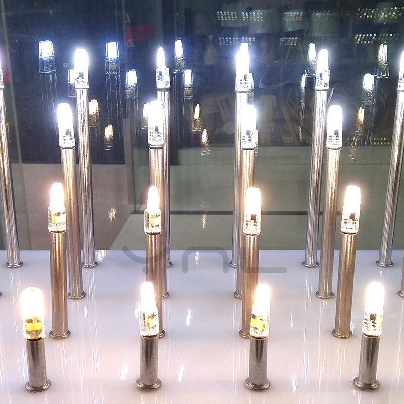 YNL G4-مصباح LED صغير AC 12V ، G4 ، 1505 COB ، مصباح رقاقة ، 360 شعاع ، زاوية ، استبدال 30 واط ، مصباح كشاف هالوجين G4 ، تيار متردد ، 12 فولت
