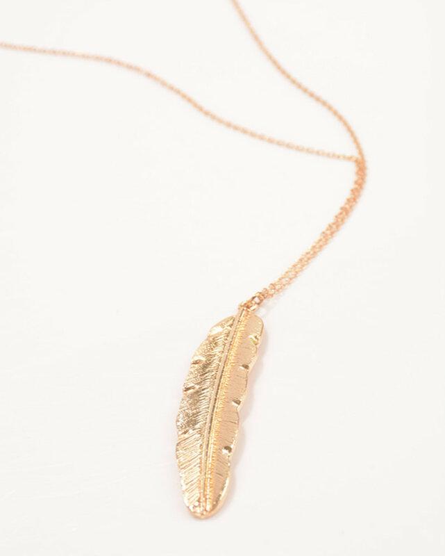 1 قطعة أزياء المرأة خمر قلادة طويلة والمجوهرات الفضة الذهب لون بسيط الريشة قلادة القلائد colar