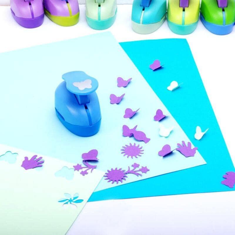 Herramienta para álbum de recortes y manualidades, 53 estilos, 2,5 cm, perforadora de papel para galería de fotos, tarjeta de regalo DIY, dispositivo de grabado YH15