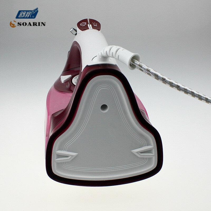 Haushaltsdampfbügeleisen für Kleidung 220 v Keramik Selbstreinigende Dampfer Eisen Kleidung Dampfstoß Dampf Controler Draht Bügeln