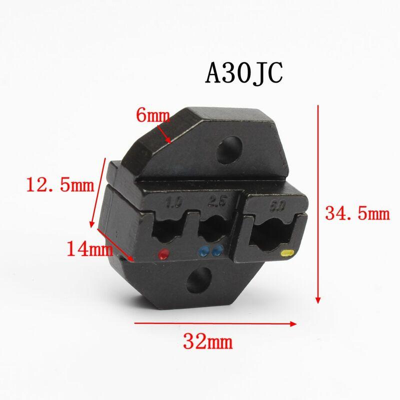A03C A30J A30JC A06WF2C A02WFL A04WL A2546B يموت مجموعات ل HS FSE العقص كماشة EM-6B1 EM-6B2 AM-10 آلة واحدة مجموعة وحدات فكي