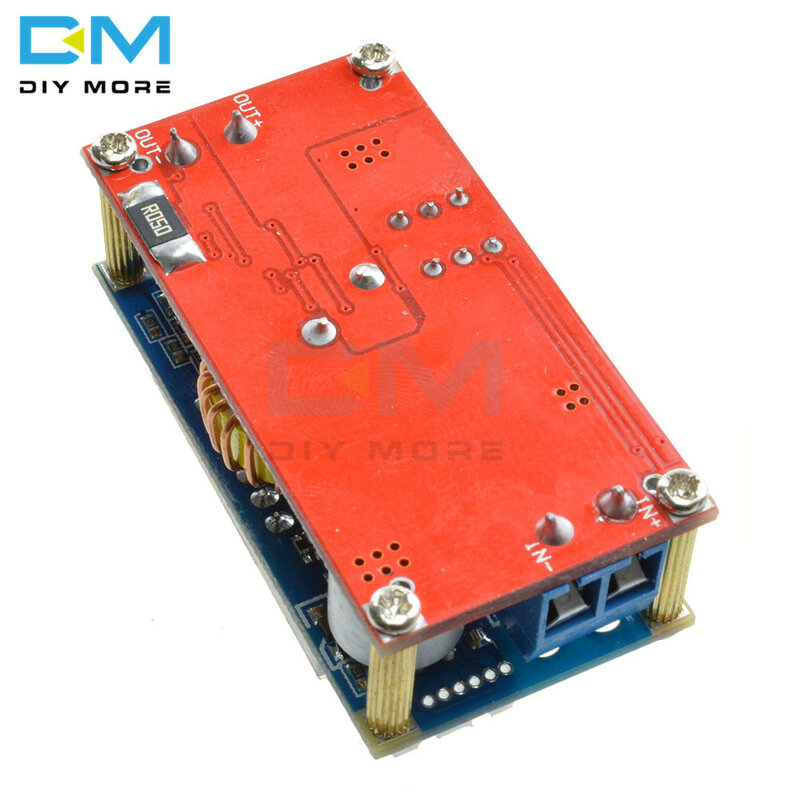 최대 5A 조정 가능한 CC CV 스텝 다운 수신기 충전 모듈 디지털 전압계 전류계 디스플레이 Arduino 비 절연 용 LED 드라이버