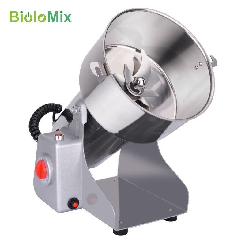BioloMix 700g Grains épices Hebals céréales café sec moulin moulin à nourriture rectifieuse moulin à Grains maison farine poudre broyeur