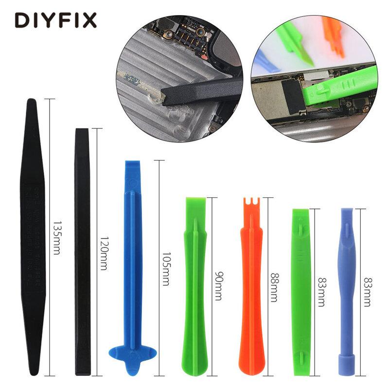 DIYFIX-مجموعة أدوات إصلاح الهاتف المحمول 21 في 1 ، مجموعة أدوات فتح ومفك البراغي لهاتف iPhone 12X8 7 6S 6 Plus