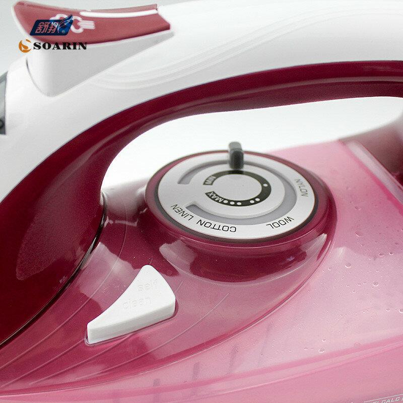 가정용 스팀 다리미 의류 220 v 세라믹 selfcleaning 증기선 다리미 의류 증기 증기 제어기의 버스트 와이어 다림질
