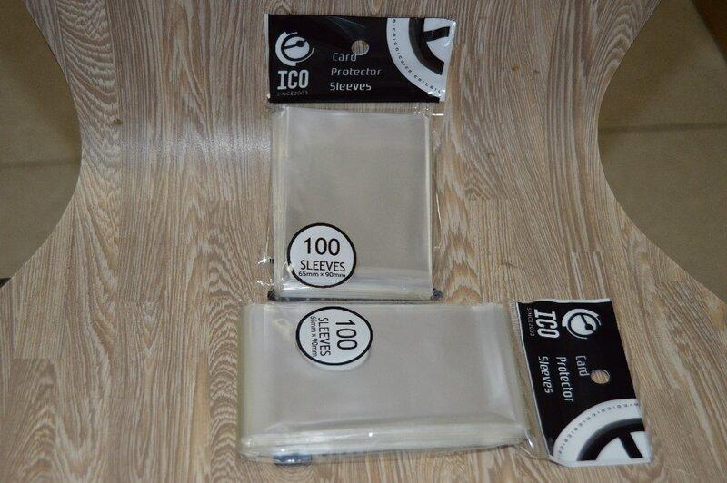 2-600pcs65*90 مللي متر شفاف جرابات بطاقات بطاقات حامي باري ل السحرية جمع بطاقات التداول tcg مجلس لعبة