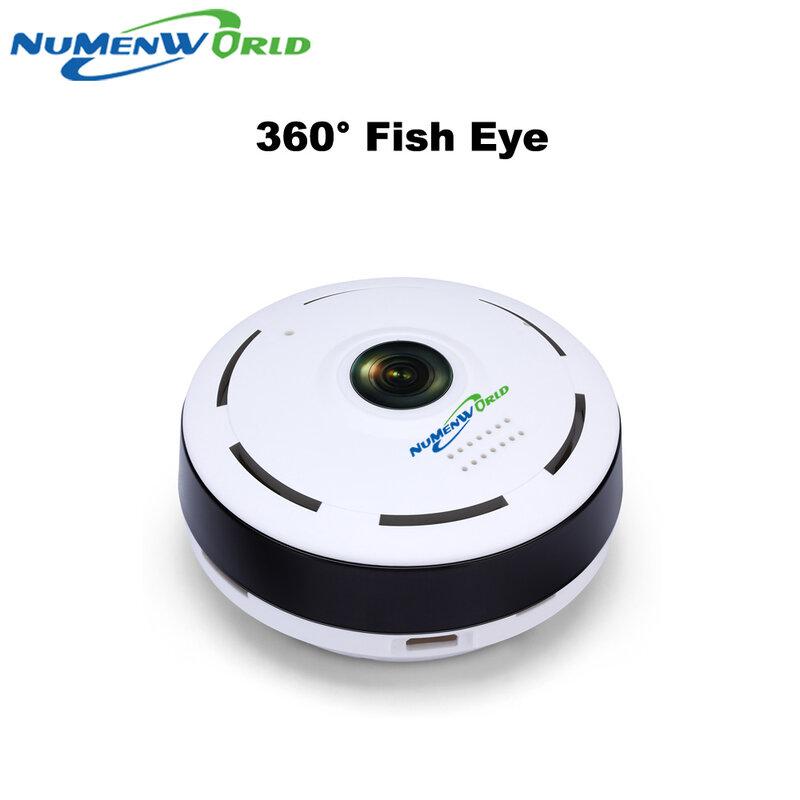 360 درجة الذكية بانوراما IPC كاميرا عين السمكة اللاسلكية دعم اتجاهين الصوت P2P 960P HD واي فاي كاميرا