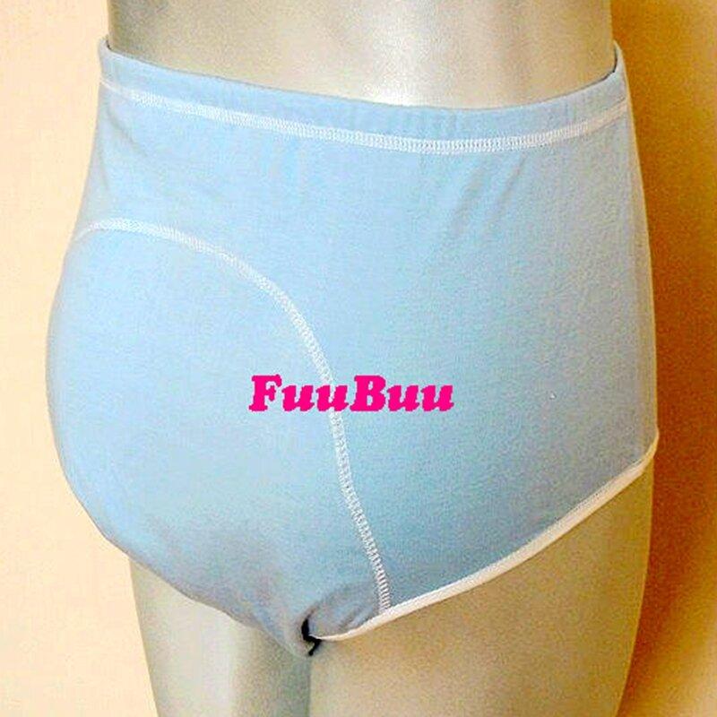 จัดส่งฟรี FUUBUU2101-3PCS Unisex incontinence + กันน้ำกางเกงสรีรวิทยาสุขภาพกางเกง leakproof wall/Lala กางเกง