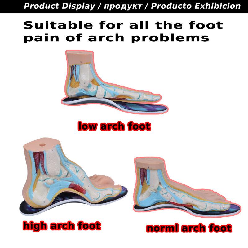 EXPfoot-plantillas ortopédicas de goma EVA para el cuidado de los pies, plantillas ortopédicas de alta calidad, soporte para ARCO, 2,5 cm, 045