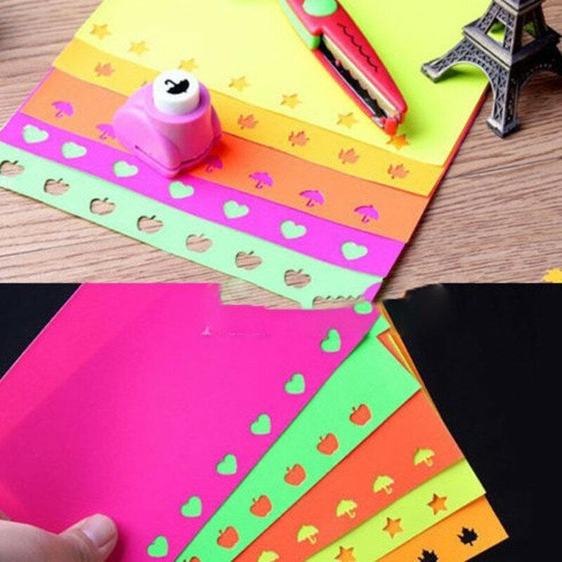 10 pz/lotto creativo Mini fai da te hole punch Craft Scrapbooking carte tagliate fatte a mano carta regalo fai da te perforatrice scuola forniture per ufficio