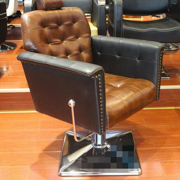 Silla europea para peluquería, salón de peluquería dedicado, silla para cortar el pelo, restauración de formas antiguas