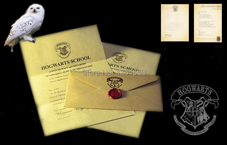 ฮาโลวีนChristmas PartyของขวัญHPแฟนตัวอักษรOf Admission Hogwartsสำหรับผู้ใหญ่เด็กSurpriseวันเกิด