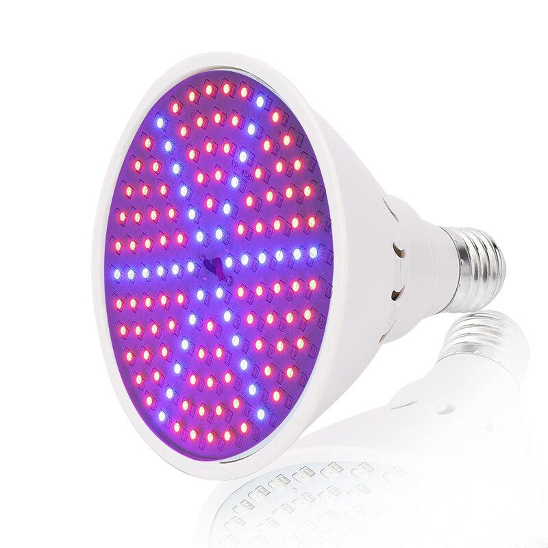 15W 40W 50W 80W LED Grow Light Phyto โคมไฟดอกไม้หลอดไฟสำหรับต้นกล้าพืชสวน LED โคมไฟสีแดง + สีฟ้า SMD3528 E27/E40