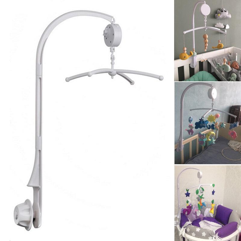 Ensemble de supports pour hochets de bébé de 0 à 12 mois, support de cloche de lit Mobile, boîte à musique à enrouler, jouet suspendu de poussette