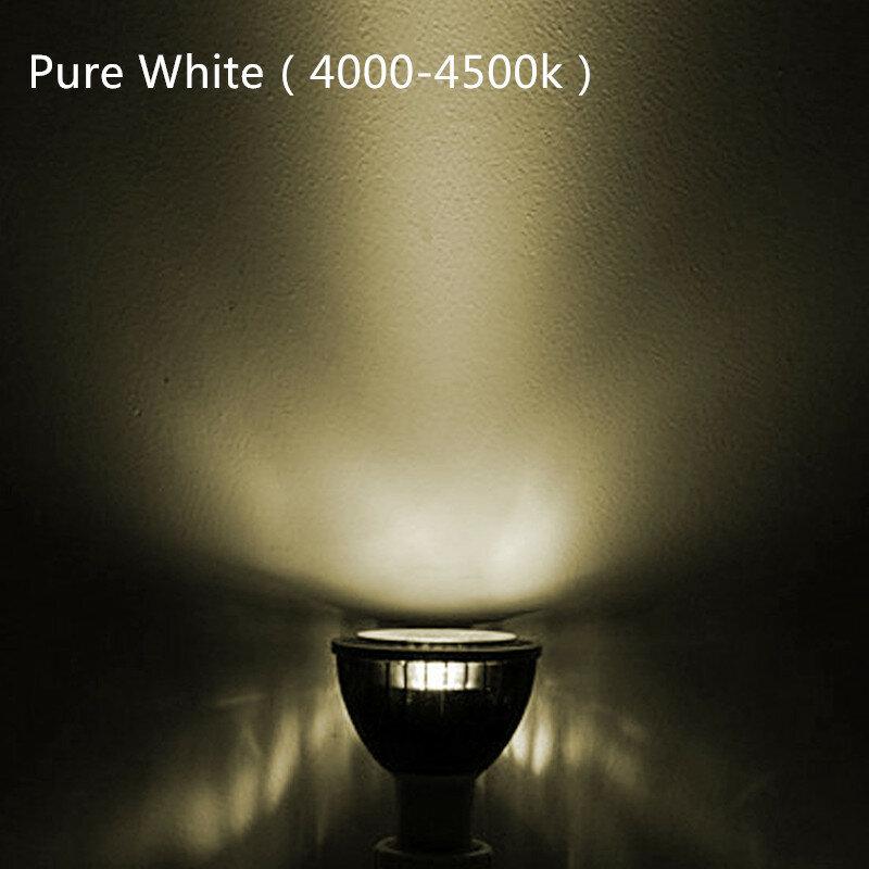 جديد عالية الطاقة Lampada Led MR16 GU5.3 COB 9 واط 12 واط 15 واط عكس الضوء Led مسلط ضوئي ذات بعض الرقاقات على السطح دافئ كول الأبيض MR16 12 فولت لمبة مصباح GU 5.3 220 ف...