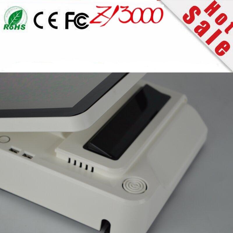 شاشة عرض Lcd Led مخزون جديد A4 j1900 4g Ddr3 64g Ssd 15 بوصة شاشة اللمس المتعدد واي فاي الكل في واحد نظام نقطة البيع