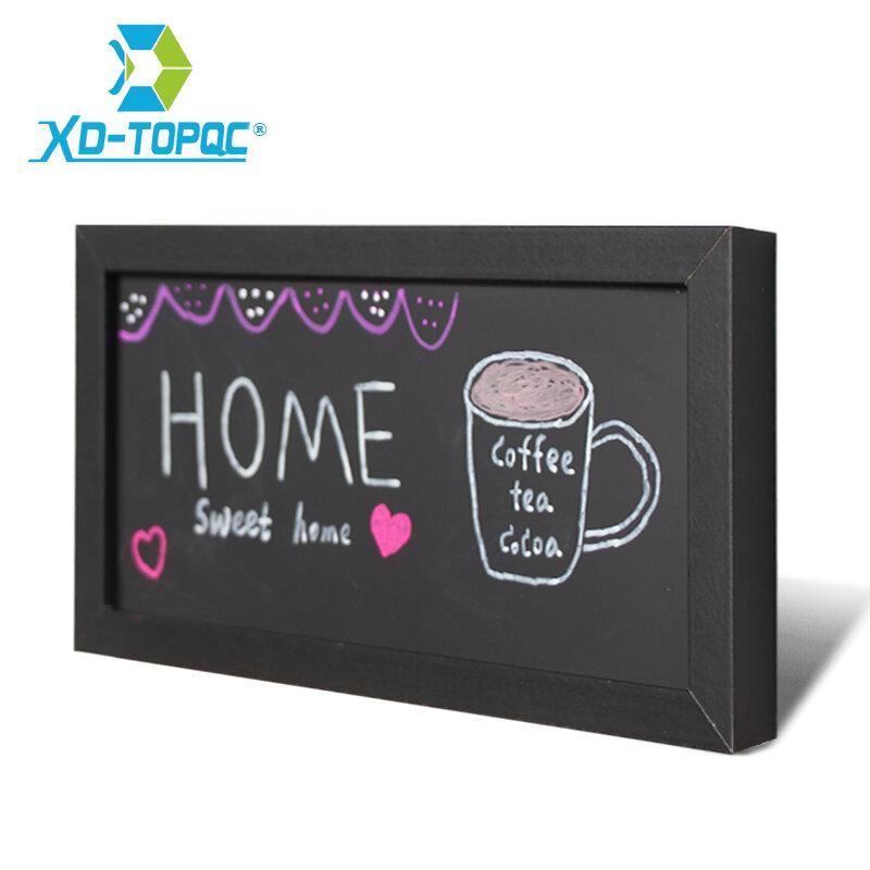 XINDI Neue Kleine Magnetische Holz Tafel Für Notizen MDF Rahmen 15*30cm Home Dekorative Memo Kreide Bord Freies verschiffen