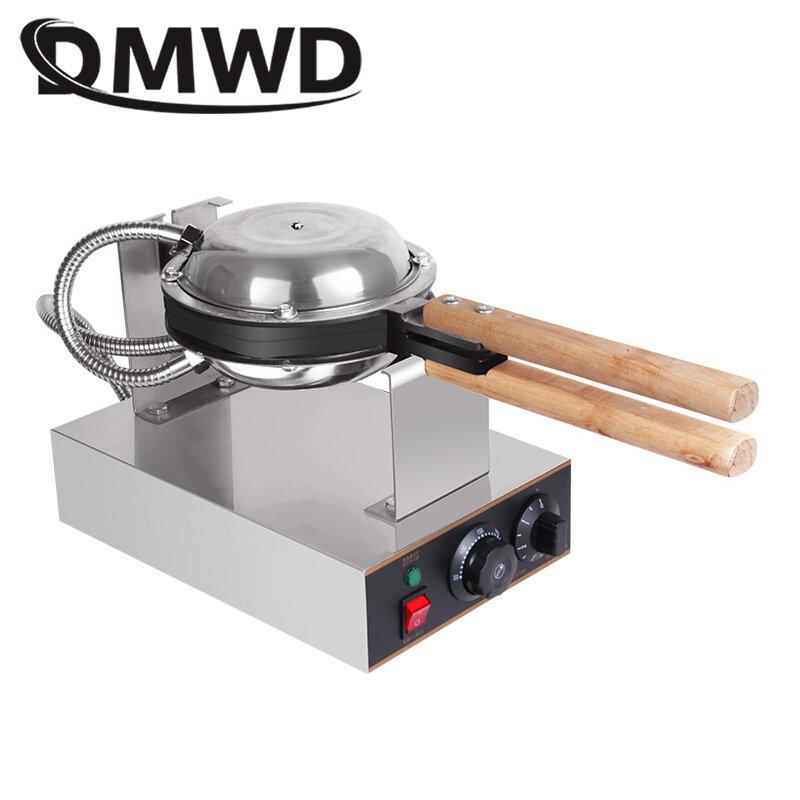 DMWD 110 V/220 V Elettrico Cinese Uovo Bubble Waffle Eggettes Soffio Della Torta di Ferro di Hong Kong Uovo Macchina Focaccina forno antiaderente Piastra