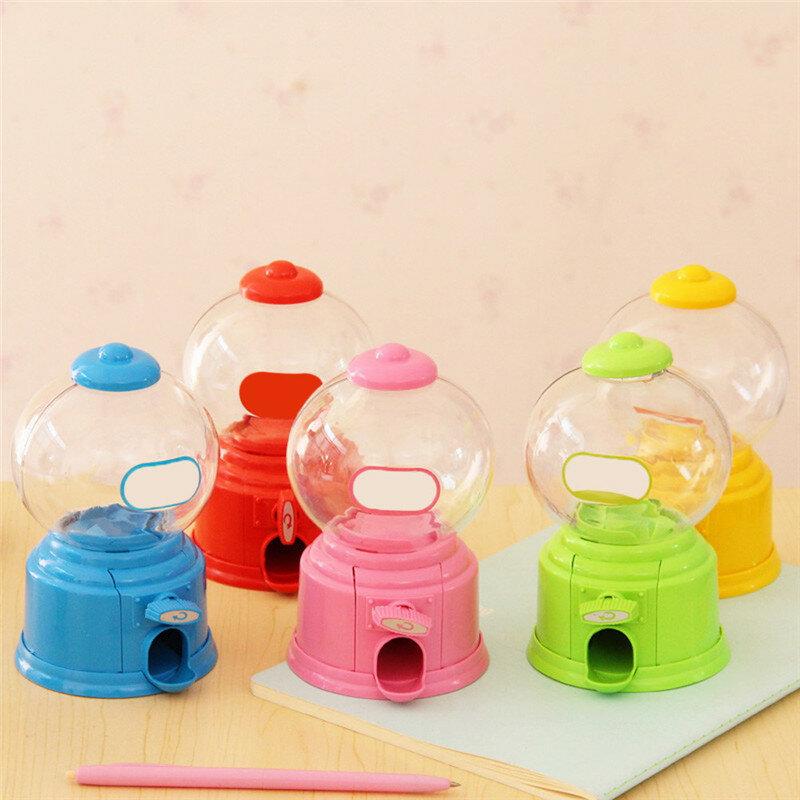 لطيف حلويات ماكينة الحلوى الصغيرة الإبداعية فقاعة Gumball آلة موزع حصالة نقود معدنية الاطفال لعبة الأطفال هدية آلة لإخراج الحلوى