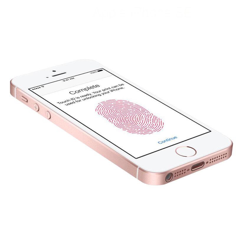 """الأصلي مقفلة ابل فون SE الهاتف الخليوي 4G LTE 4.0 """"2GB RAM 16/64GB ROM A9 ثنائي النواة اللمس ID الهاتف المحمول تستخدم iphonese"""