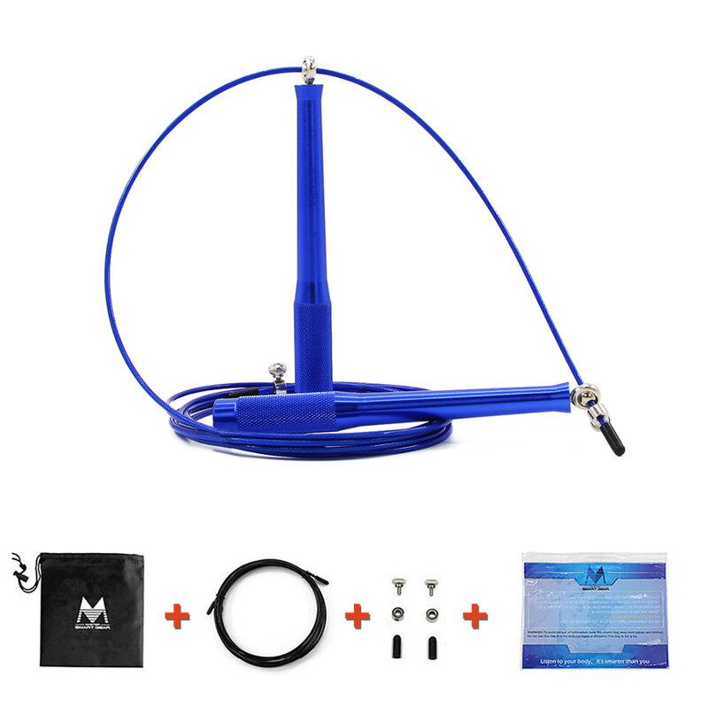 Geschwindigkeit Springseil MMA Box Home Gym Ultra Speed Jump Seil Metall Lager Sport Springseil mit Ersatz Seil