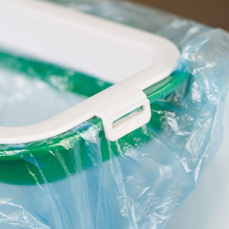 Schrank Tür Zurück Hängen Papierkorb Rack Lagerung Küche Müll Müll Tasche Können Halter Hängen Küche Schrank Mülleimer Rack