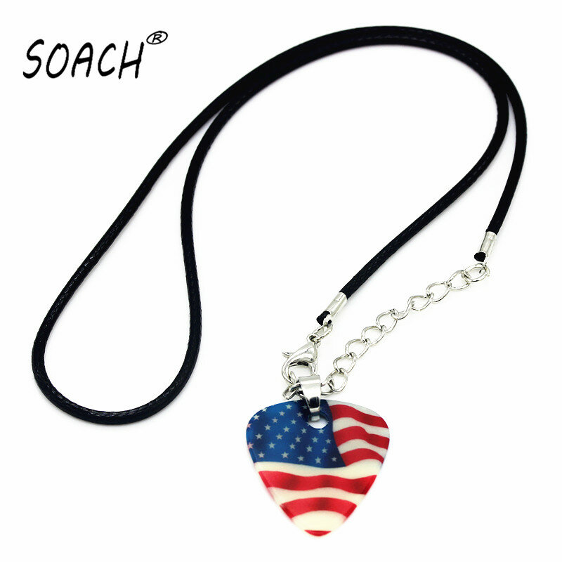 SOACH 2015 Halskette Collares Anhänger Streifen Kette Halsketten Schmuck picks gitarre picks 1,0mm