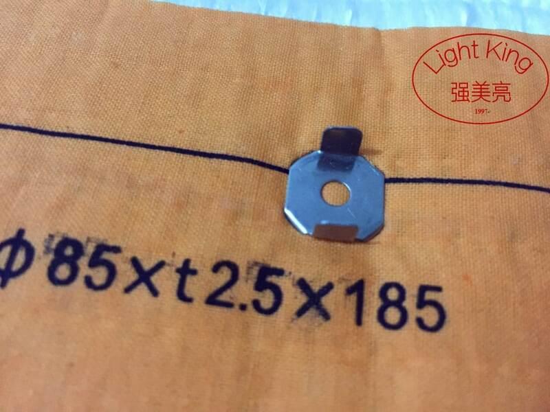 فتيل موقد الكيروسين 85 * t2.5 * 185 مللي متر ، 2 قطعة ، مصنوع من ألياف زجاجية عالية الجودة 100% قطن