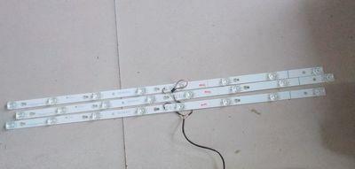 TCL-barra de luz L40P1A-F, TOT-40D2900-3X8-3030C, 69CM, 3 barras de luz, YHA-4C-LB4008-YH07J de longitud Total