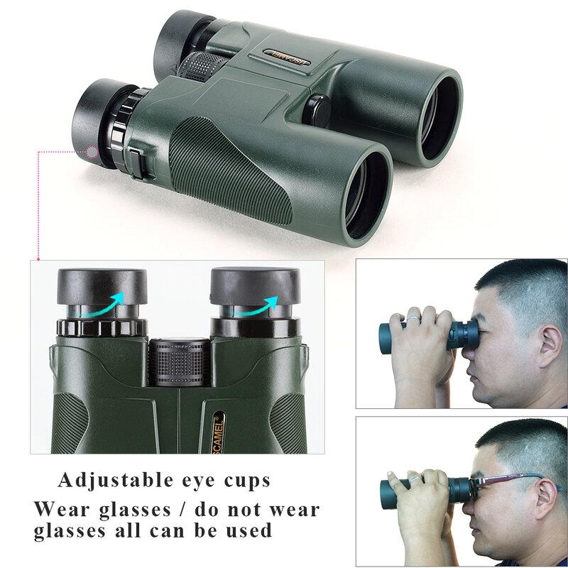 USCAMEL Military HD 10x42 Fernglas Professionelle Jagd Teleskop Zoom Hohe Qualität Vision Keine Infrarot Okular Armee Grün