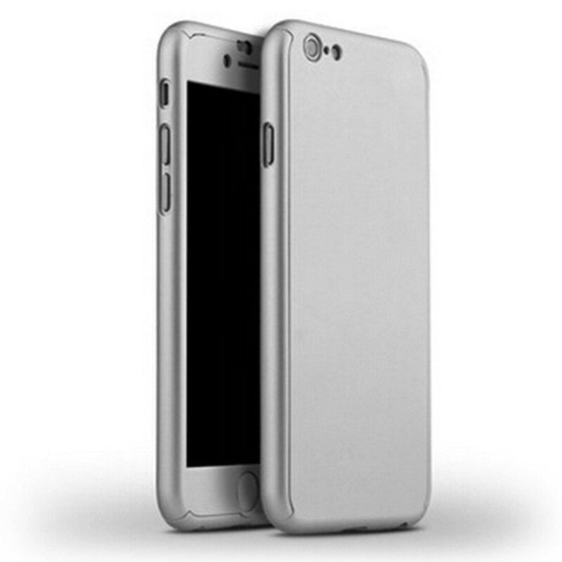ใหม่ Hybrid 360 Full Hard Capa สำหรับ Iphone XR Xs MAX X 10 8 8Plus 7 7Plus 6 6S Plus โทรศัพท์กรณี + กระจกนิรภัย