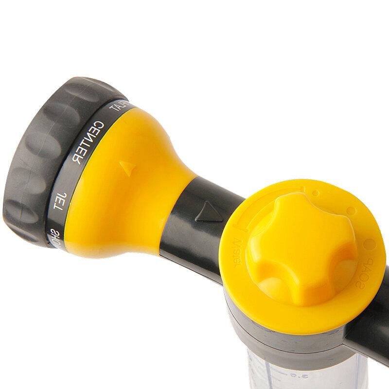 Multifunktions Schaum Wasserpistole Hochdruck Auto Waschmaschine Einstellbare Spritzpistole Schäumer Düse Gartengeräte