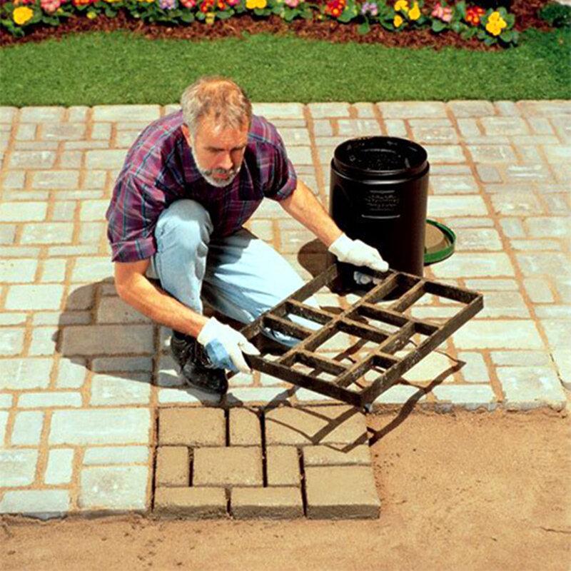 60*50*5 cm GRANDE Giardino di Plastica FAI DA TE Percorso Maker Mold Pavimentazione Stradale Muffa del Mattone del cemento decor path passo passo della pietra maker piazza mold