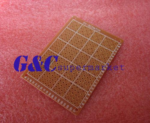 10 قطعة DIY نموذج ورقة PCB مجلس العالمي 5*7 cm 5*7 cm