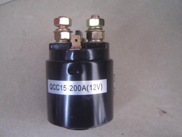 QCC15-موصل مضخة لعربة الجولف الكهربائية ، 12 فولت ، 200 أمبير ، للرافعة الخلفية