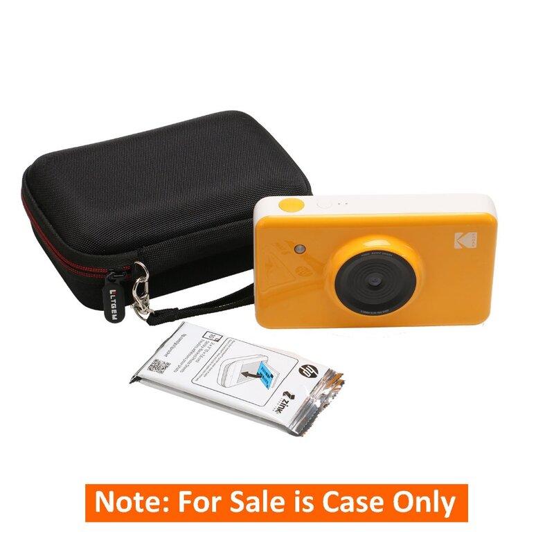 Kodak Mini Shot 무선 2 in 1 인스턴트 인쇄 디지털 카메라 및 프린터 용 LTGEM 휴대용 케이스