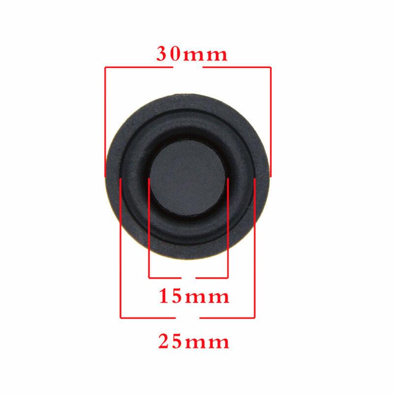 2PCS 30mm durchmesser bass membran Passive platte Verbesserte bass niedrigen frequenz film Heizkörper gummi membran