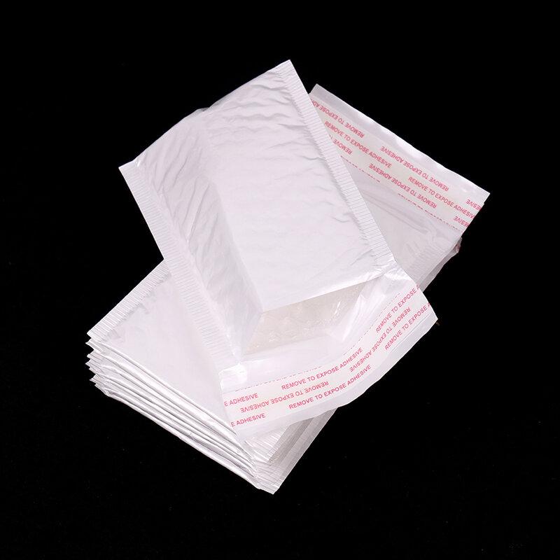 10PCS Bianco Busta Della Bolla Bolla Sacchetto della Pellicola Pellicola Della Perla Busta Ufficio di Imballaggio Busta A Prova D'umidità di Vibrazione del Sacchetto