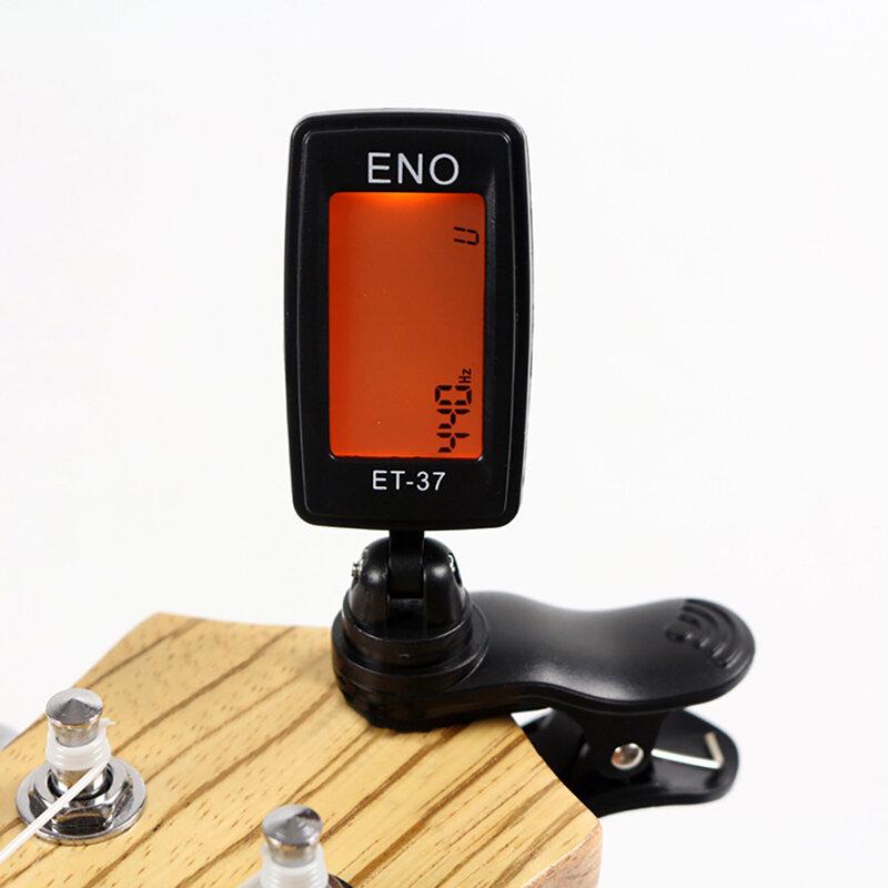 Accordatore digitale a Clip cromatico per chitarra elettrica acustica basso violino Ukulele parti di chitarra accessori per chitarra