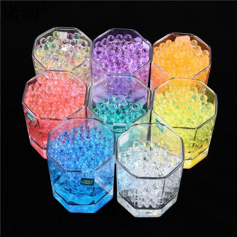 10000 pz/borsa decorazioni per la casa perle di cristallo a forma di perla perline di acqua Bio Gel palla per fiore/diserbo fango crescere palle di gelatina magica
